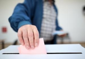 Primary Turnout Above Average