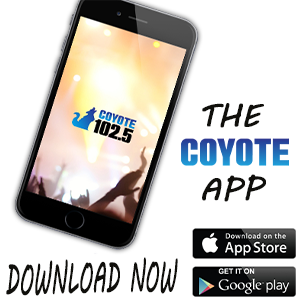 Put A Coyote In Your Pocket! Download The Coyote 102.5 App Now!