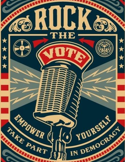 Rock Your Vote! Get the details here!