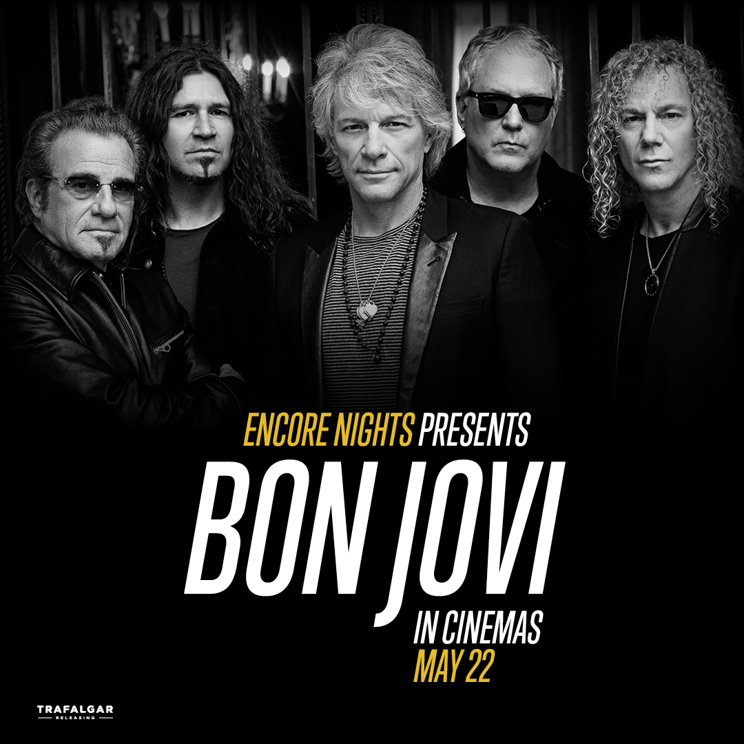 Listen to Jaimey B to see Bon Jovi on the Big Screen!