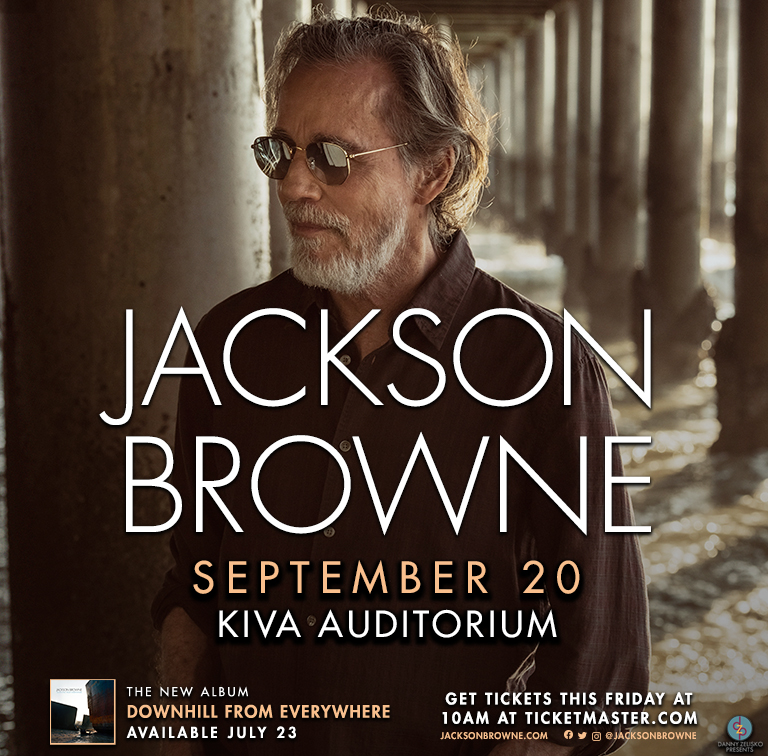 Listen to win tickets to Jackson Browne