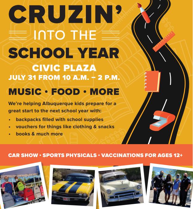 "4th Annual ""Cruisin"" into the School Year"