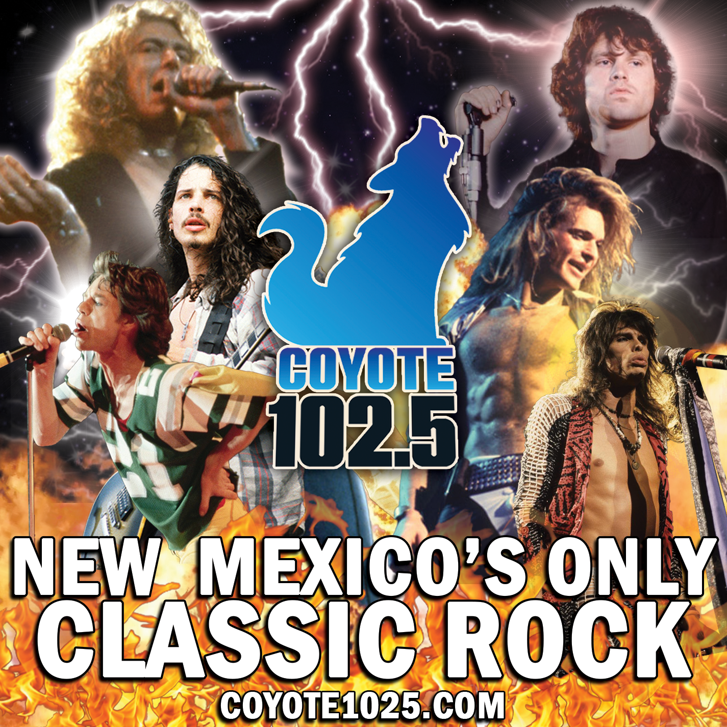 """Join Uncle Sam for the """"Coyote Cafe"""" All Request Lunch Hour"""