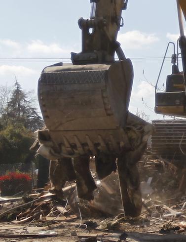 VIDEO: 24th Street demolition begins