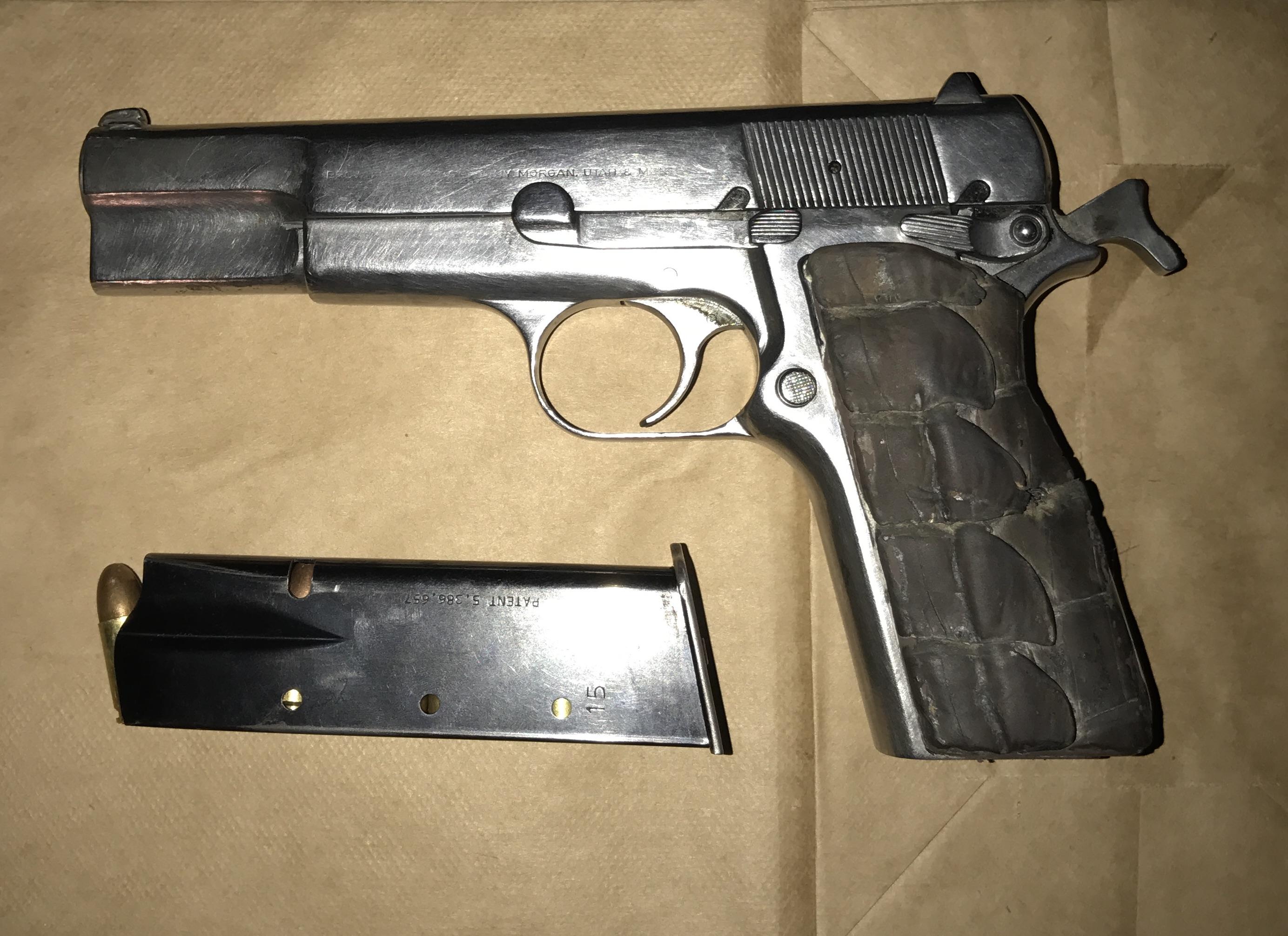 Bakersfield Police recover stolen handgun, make arrests