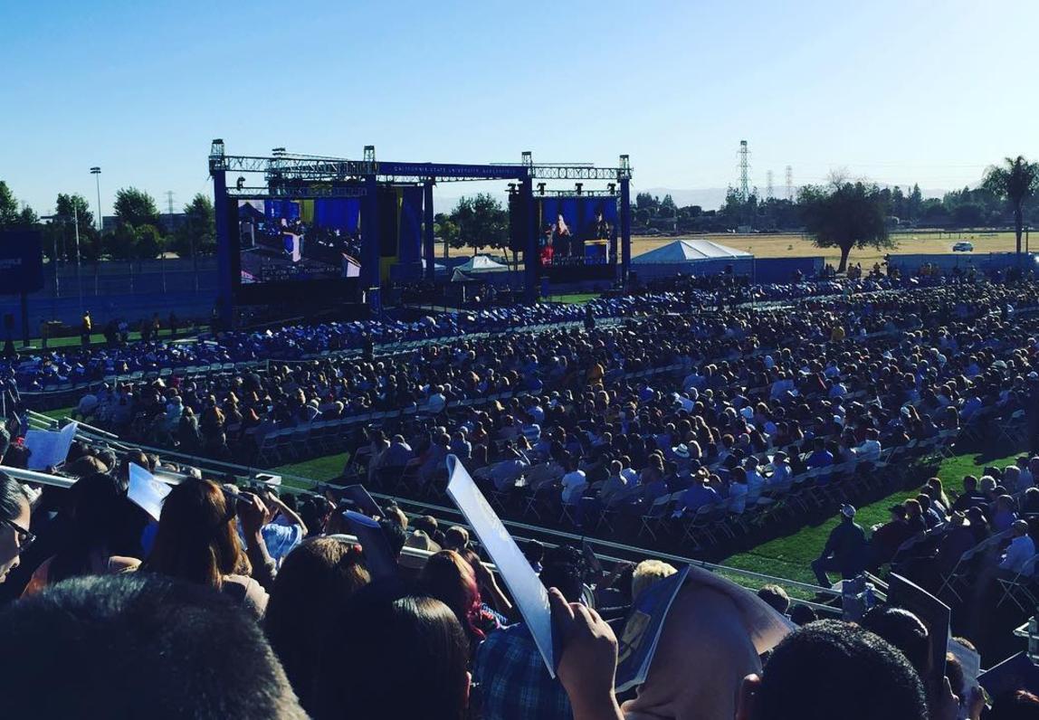 CSU Bakersfield's big graduation in pictures