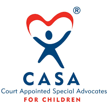 CASA director Amy Travis and CASA volunteer Ian Journey talk foster youth need