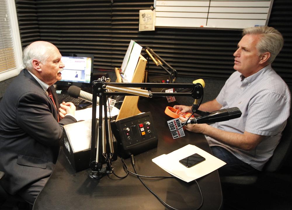 "Maggard, McCarthy  on ""The Richard Beene Show"""