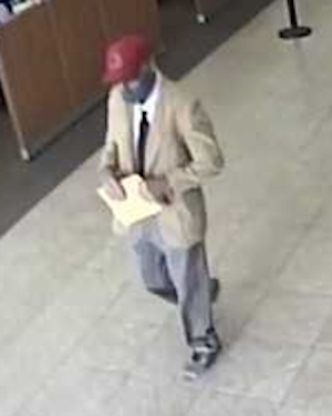 Deputies searching for man who robbed Oildale bank