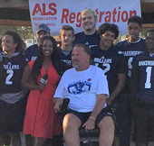 BHS Coach with ALS Talks Up Walk to Fight Disease