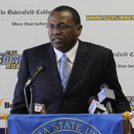 CSUB basketball coach Rod Barnes talks about his new team and summer camps