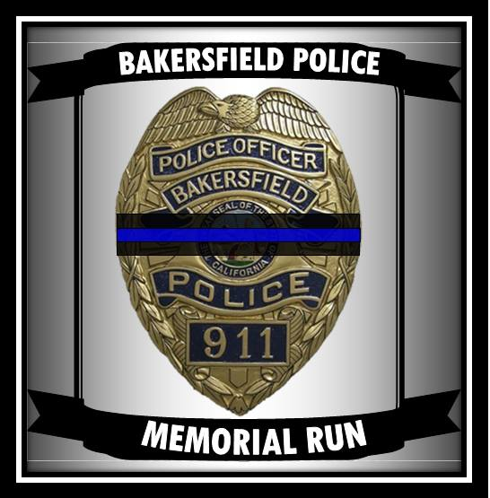 Bakersfield Police Department holds annual memorial run to help the families of fallen officers