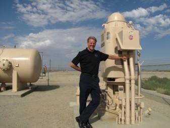 Harry Starkey, water expert, talks conservation and water storage