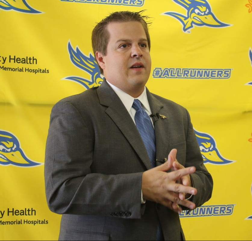 CSUB athletic director Ziggy Siegfried on a $500,000 gift to the athletics department for scholarships and other programs