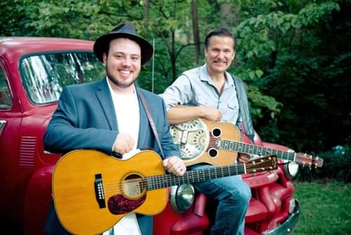 Listen to the bluegrass sounds of Rob Ickes and Trey Hensley in Studio 99 at American General Media