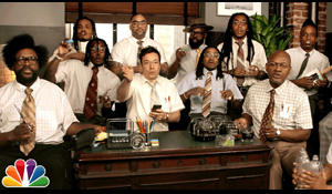 """Migos, Fallon And The Roots – """"Bad and Boujee"""""""