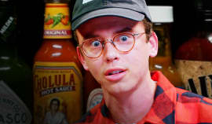 Logic Eat's Some Hot Ones