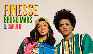 "Bruno Mars & Cardi B – ""Finesse"""