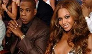 Jay-Z And Beyonce Make Blue Blush!