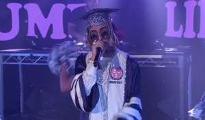 Lil Pump Hits The Kimmel Stage