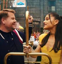 Ariana Celebrates No More Lockdowns