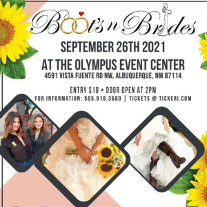 Boots N Brides Wedding Expo the 26th