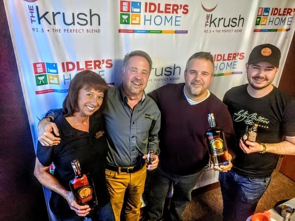Liquid Lunch – 12/18/18 – Wicked Harvest Bourbon in studio with Luke from Sidecar
