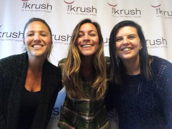 Krush In Studio – 03/20/19 – Hilary and Kate drop by before their show at The Siren