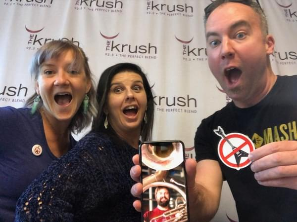 Krush In Studio – 04/02/19 – Suzanne talks to Brass Mash about upcoming shows and more