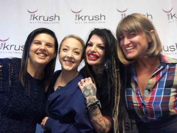 Krush In Studio – 05/23/19 – The Morph Project in studio