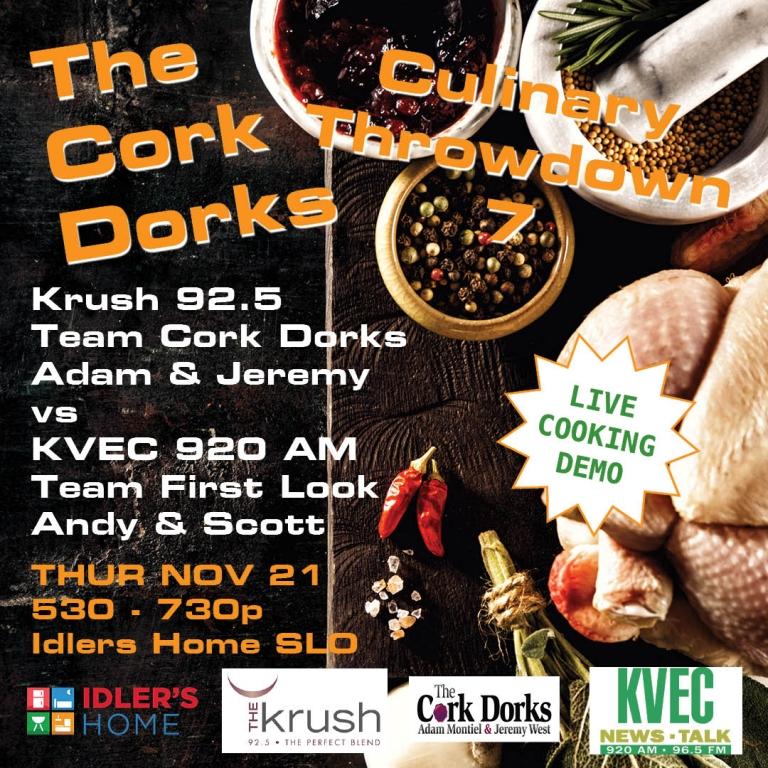 Liquid Lunch 11/20/19 Cork Dorks Culinary Throwdown 7