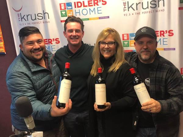 Liquid Lunch 11/26/19 Austin Hope & Hope Family Wines