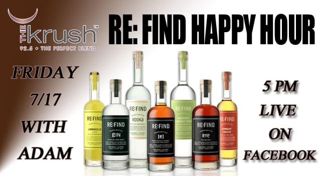 Krush Re-Find Happy Hour!