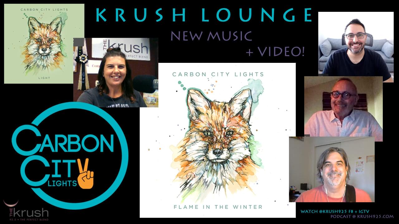 Krush Lounge Carbon City Lights FLAME IN THE WINTER Album Preview 10/9/20