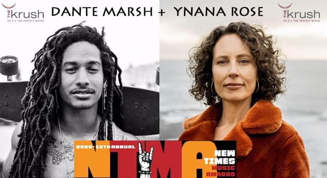 Krush Lounge NTMA Preview with Ynana Rose + Dante Marsh 11/6/20