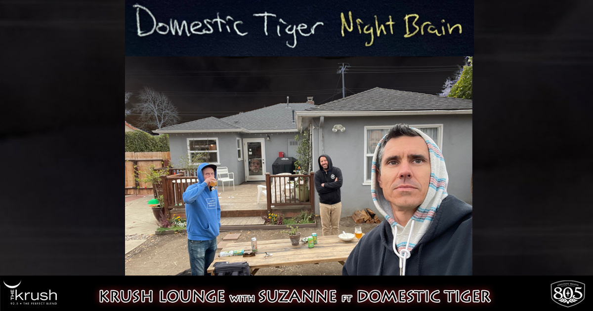 Krush Lounge Domestic Tiger Night Brain EP 3/19/21