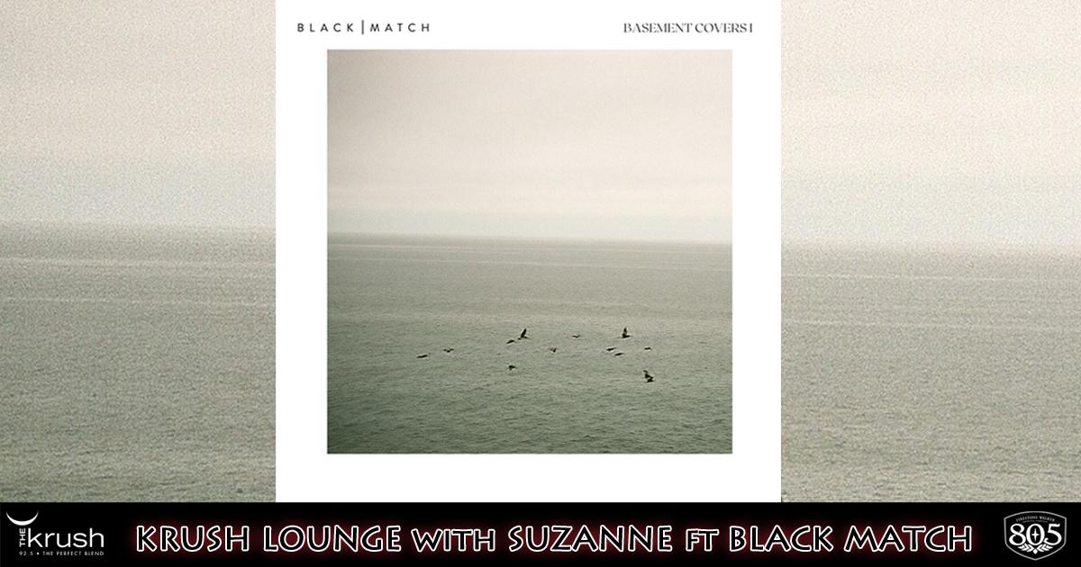 Krush Lounge Black Match Basement Covers I 5/7/21