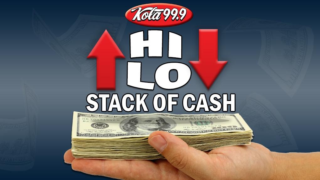 KOLA Hi-Lo Stack of Cash!