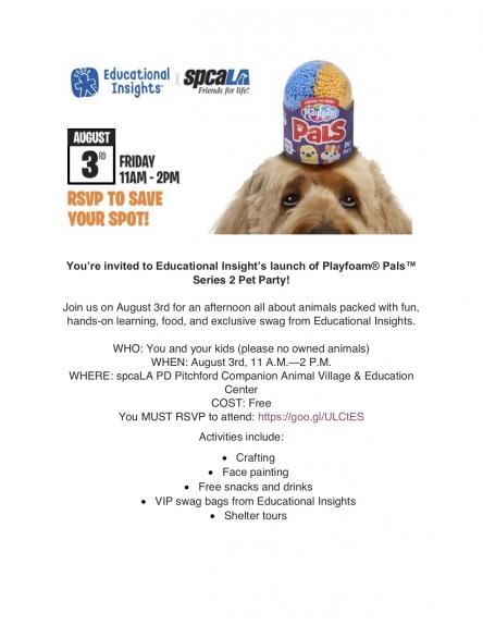8/3 Playfoam Pals Pet Party