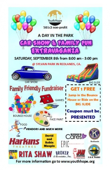 """9/8 Youth Hope """"Day in the Park"""""""