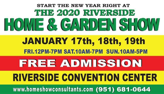 The 2020 Riverside Home & Garden Show