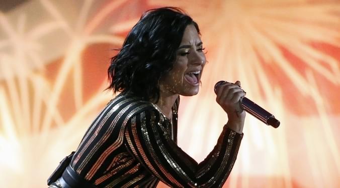 Demi Lovato SBLIV  anthem singer | Vic Slick |