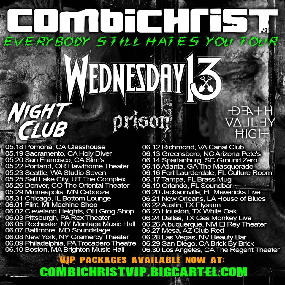 (LISTEN) Combichrist singer Andy LaPlegua talks to Mike Z-Wired In The Empire