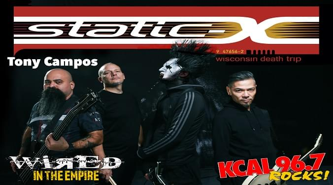 (LISTEN) Static X bassist Tony Campos talks to Mike Z-Wired In The Empire