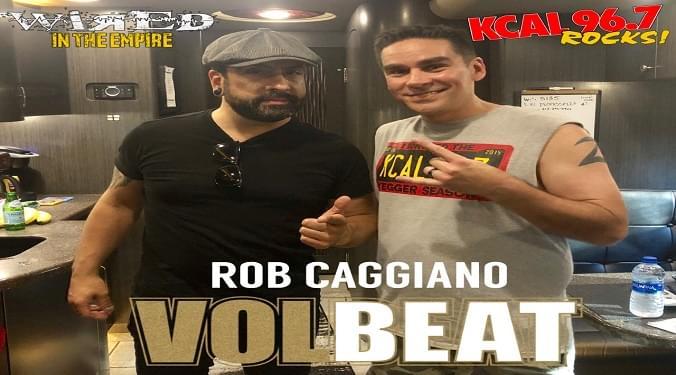 (LISTEN) Volbeat guitarist Rob Caggiano talks to Mike Z-Wired In The Empire