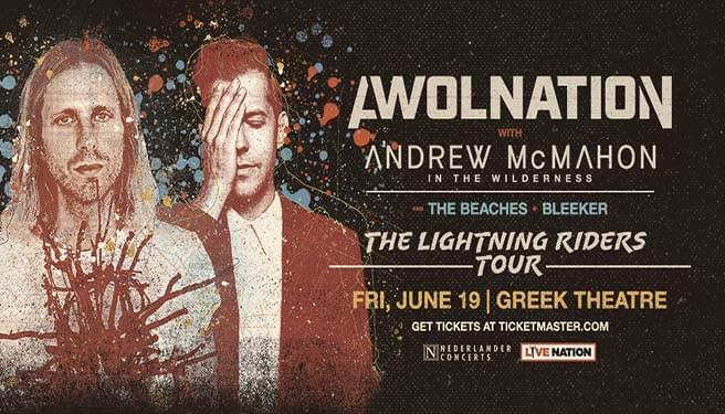 AWOLNATION with Andrew McMahon