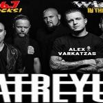 (LISTEN) Atreyu singer Alex Varkatzas talks to Mike Z-Wired In The Empire