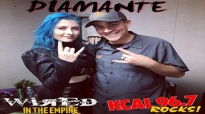 (LISTEN) Diamante talks to Mike Z-Wired In The Empire