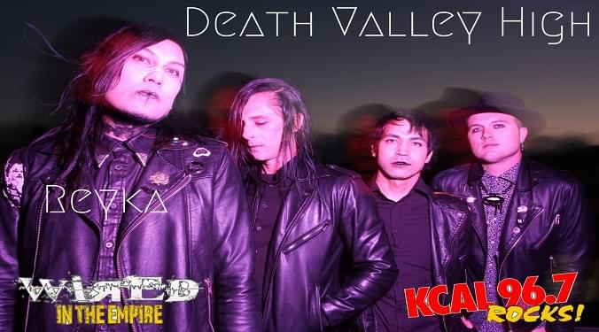 (LISTEN) Death Valley High singer Reyka talks to Mike Z-Wired In The Empire