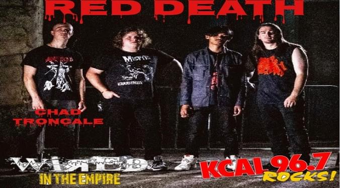 (LISTEN) Red Death singer Chad Troncale talks to Mike Z-Wired In The Empire